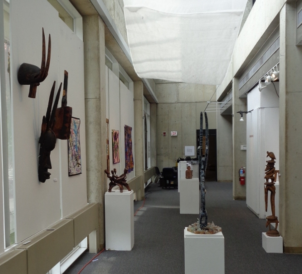 Atrium Gallery Front View